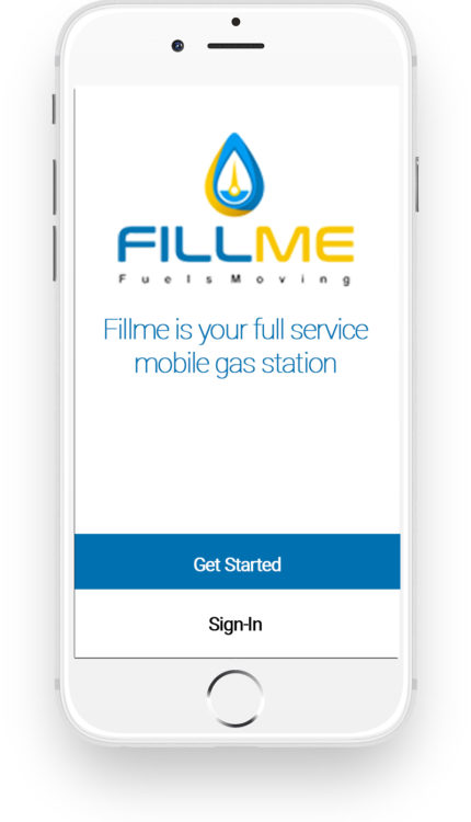 Fillme Fuels Gas Delivered App